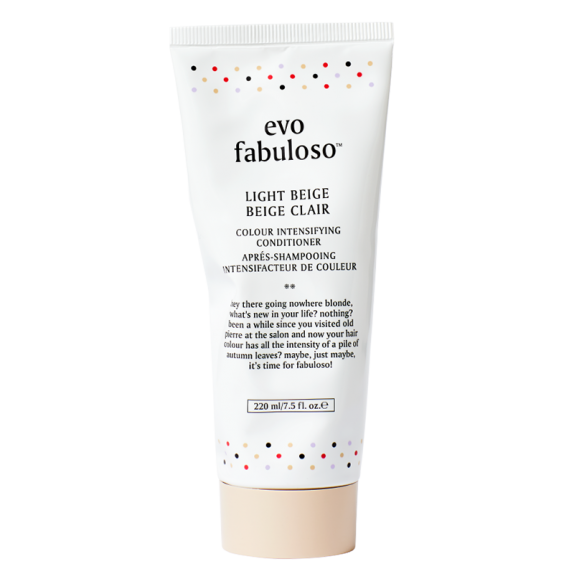 EVO fabuloso light beige spalvos palaikymo kondicionierius