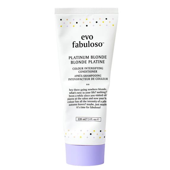EVO fabuloso platinum blonde spalvos palaikymo kondicionierius
