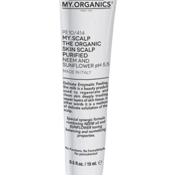 My.Organics My.Scalp galvos odos pilingas 15ml
