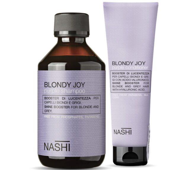 Nahi Blondy Joy Purlpe tonuojamasis šampūnas ir kondicionierius