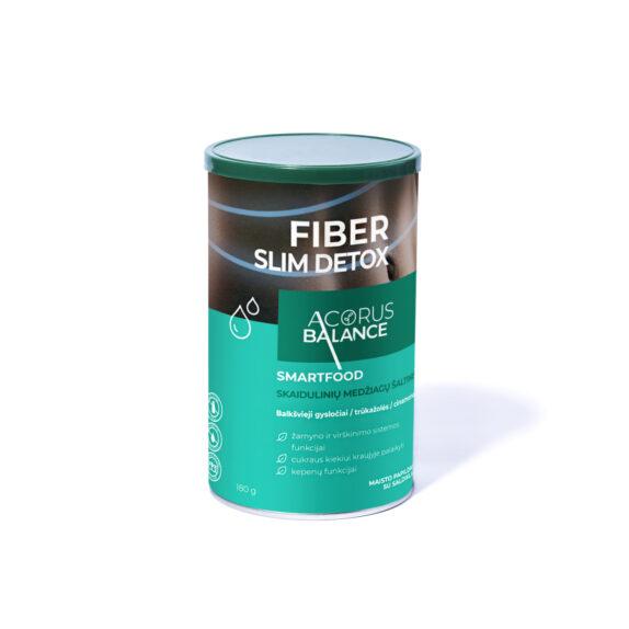 ACORUS BALANCE FIBER SLIM DETOX maisto papildas