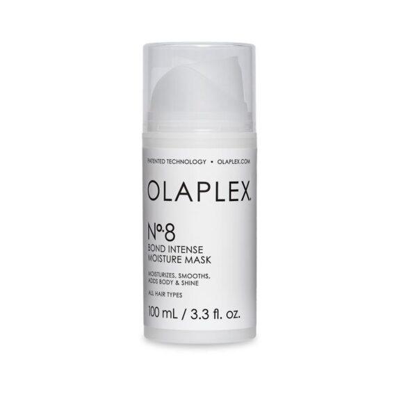 OLAPLEX Nr8 atkūriamoji, intensyviai drėkinanti ir itin koncentruota plaukų kaukė, 100ml