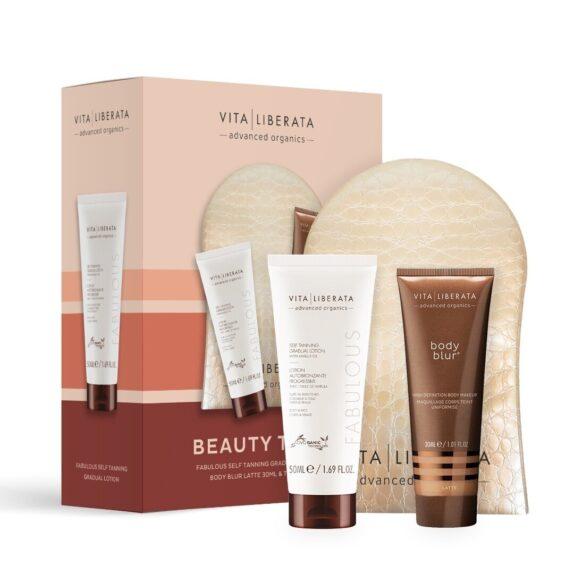 Vita Liberata Beauty To Go – kelionis įdegio produktų rinkinys