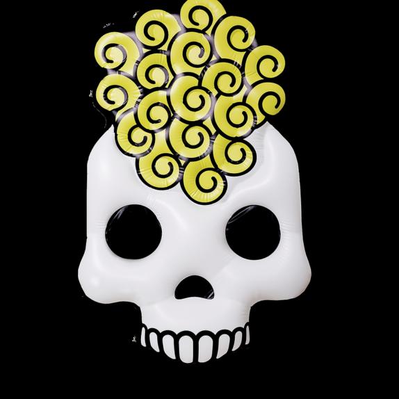 AMIKA pripučiamas čiužinys – amika skull pool float