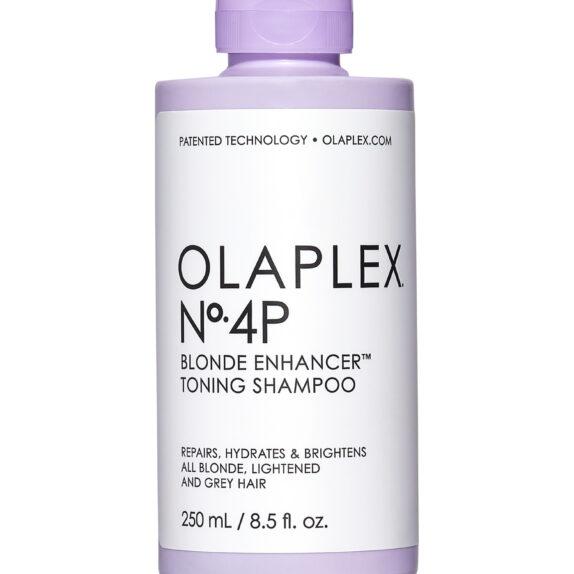 OLAPLEX No4P tonuojantis šampūnas šviesiems plaukams, 250ml