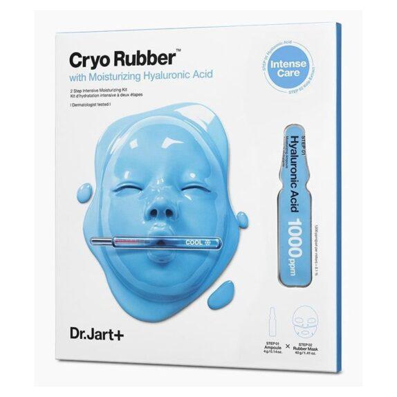 Dr.Jart+ Cryo Rubber Moisturizing  kaukė drėkinanti veido odą, 4 g + 40 g